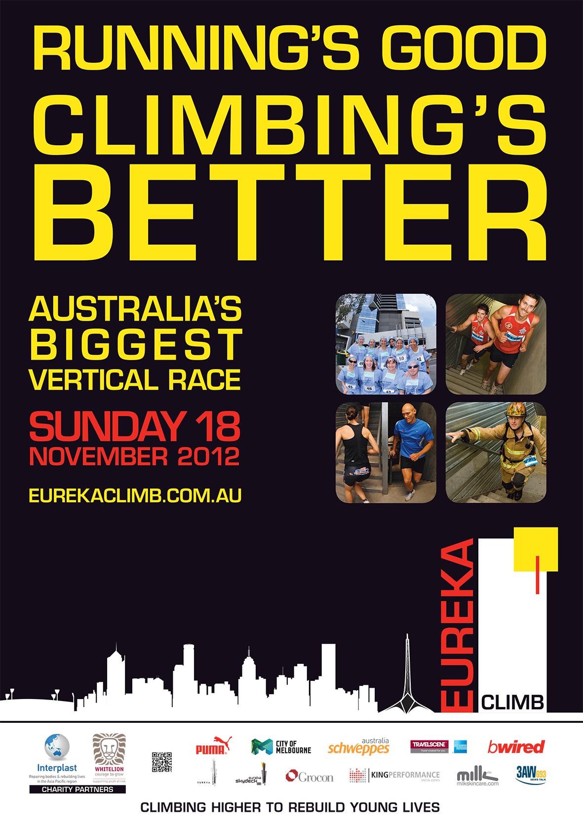 Eureka Climb Poster 2012