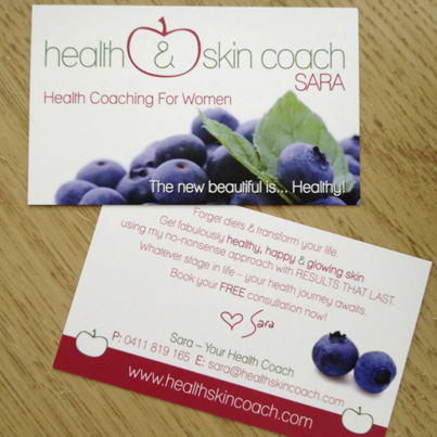 healthskincoashsara_business_cards