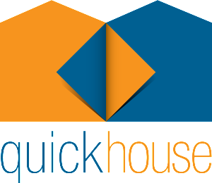 quick house logo RGB